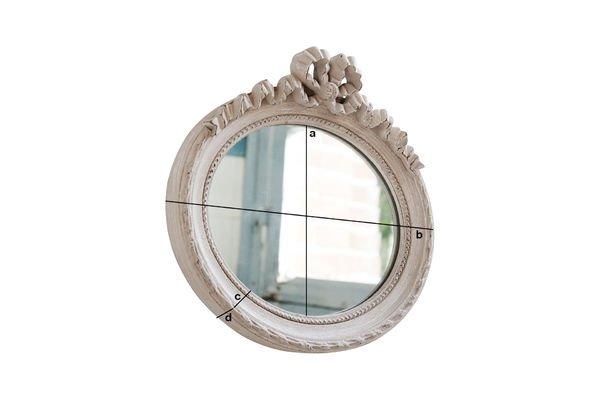 Dimensioni del prodotto Specchio Justine
