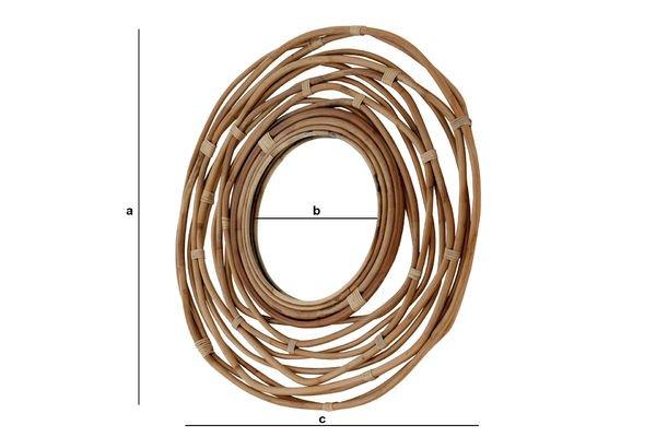 Dimensioni del prodotto Specchio Linnëa