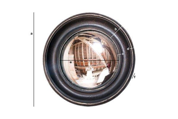 Dimensioni del prodotto Specchio Magellano