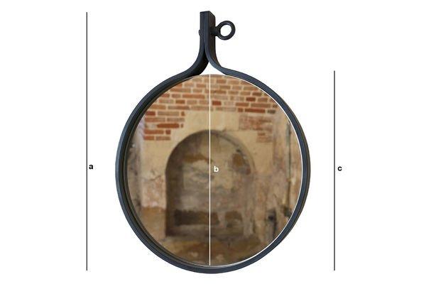 Dimensioni del prodotto Specchio Matka