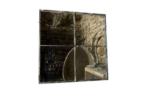 Specchio quadrato 4 sezioni Foto ritagliata