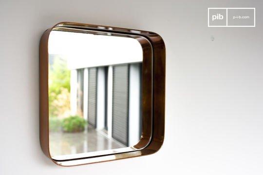 Specchio quadrato Lena