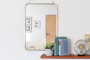 Specchio linn a accessorio originale stile nordico pib for Specchio cornice argento