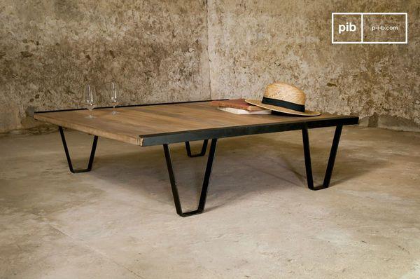 Tavolino da Salotto Bay Teck