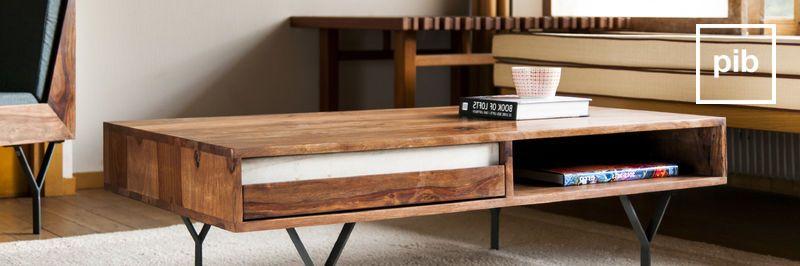 Tavolini da salotto con cassetti