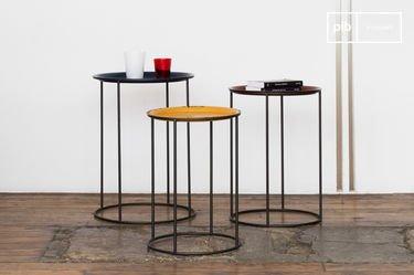 Tavolini tricolore Gigogne