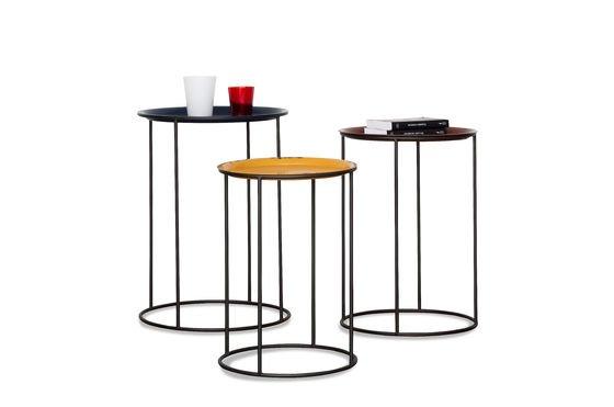 Tavolini tricolore Gigogne Foto ritagliata