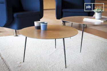 Tavolino basso gemello Xylème
