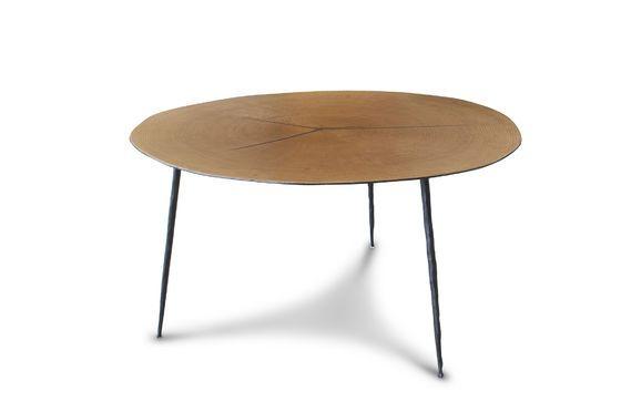 Tavolino basso gemello Xylème Foto ritagliata