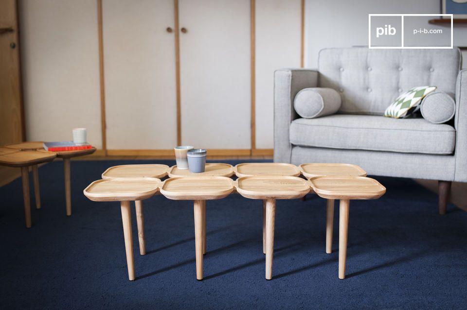 Un tavolino originale con più piani