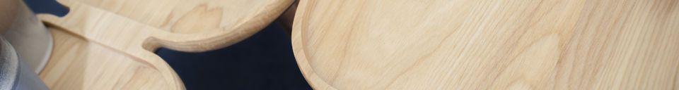Materiali prima di tutto Tavolino basso in legno Kädri