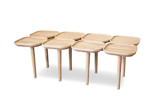 Tavolino basso in legno Kädri Foto ritagliata