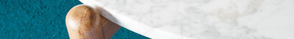 Materiali prima di tutto Tavolino Basso in marmo Västra