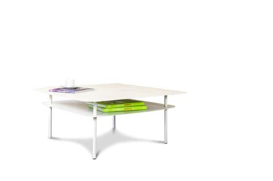 Tavolino bianco Holly Foto ritagliata