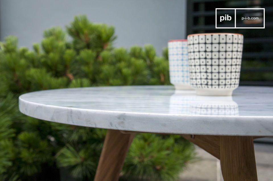 Il tavolino Briët vi sedurrà con il suo design Scandinavo e rifinito