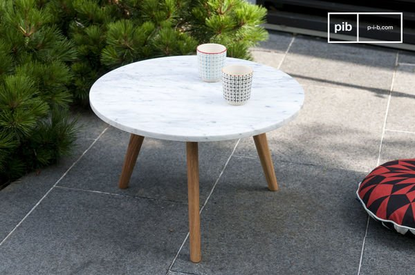 Tavolino in design vintage Briët