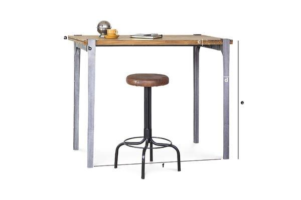 Dimensioni del prodotto Tavolino da bar Wellington