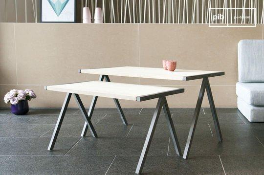 Tavolino da caffè a due Arlanda