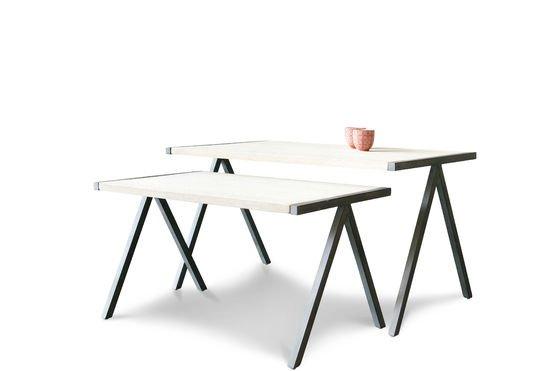 Tavolino da caffè a due Arlanda Foto ritagliata