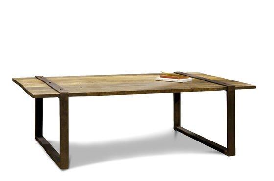 tavolino da caff domancy solido legno di olmo 100 pib