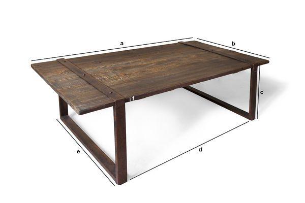 Dimensioni del prodotto Tavolino da caffè Domancy