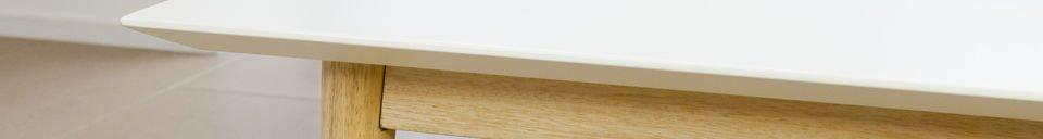 Materiali prima di tutto Tavolino da caffè Fjord rettangolare