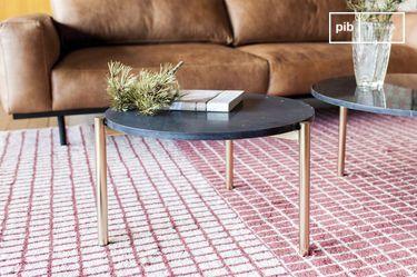 Tavolino da caffè in marmo Anneli