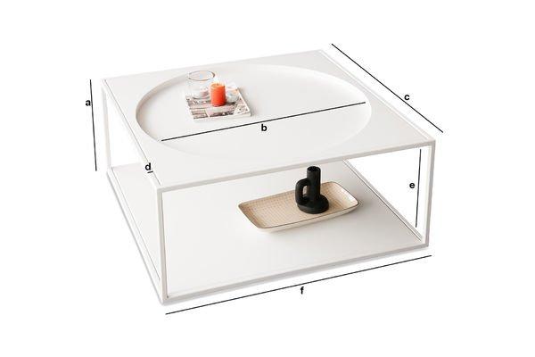 Dimensioni del prodotto Tavolino da caffè Nölbis