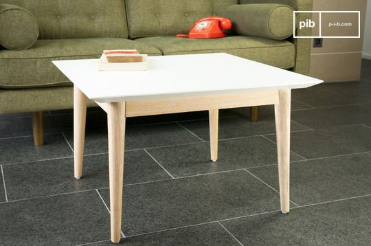 Tavolino da caffè quadrato Fjord
