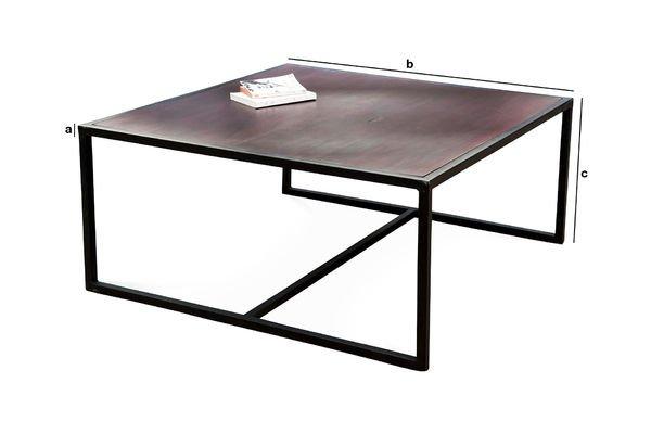 Dimensioni del prodotto Tavolino da caffè Smoke