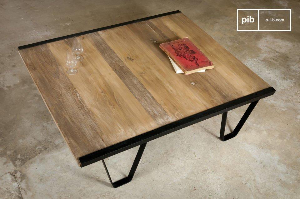 Tavolino Vintage da Salotto in Teak
