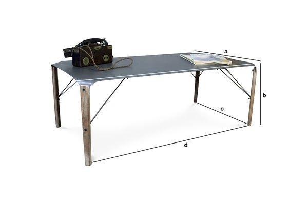 Dimensioni del prodotto Tavolino da Salotto Bow
