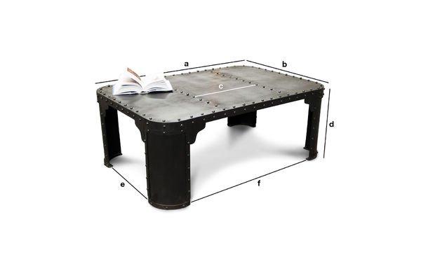 Dimensioni del prodotto Tavolino da salotto Brigor