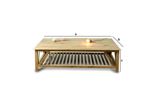 Dimensioni del prodotto Tavolino da salotto Cadynam