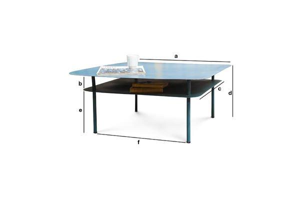 Dimensioni del prodotto Tavolino da salotto Holly