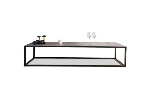 Tavolino da salotto in cuoio Rothmann Foto ritagliata