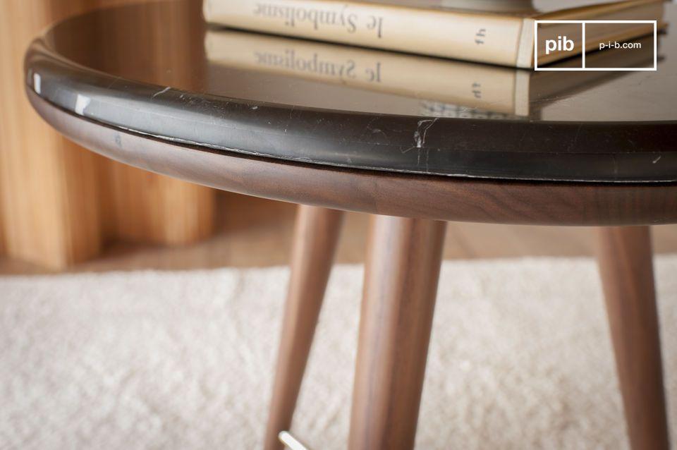 Tavolino Da Salotto In Marmo.Tavolino Da Salotto In Marmo Nero Sivart Pib