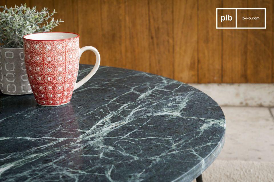Tavolino in marmo Vertü