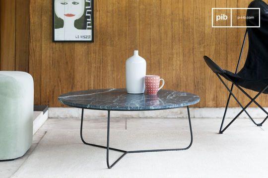 Tavolino da salotto in marmo Vertü