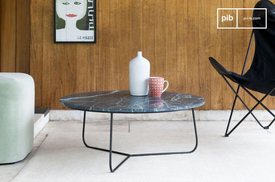 Tavolino Da Salotto In Marmo.Tavolino Da Salotto In Marmo Vertu Equilibrio Sottile Pib