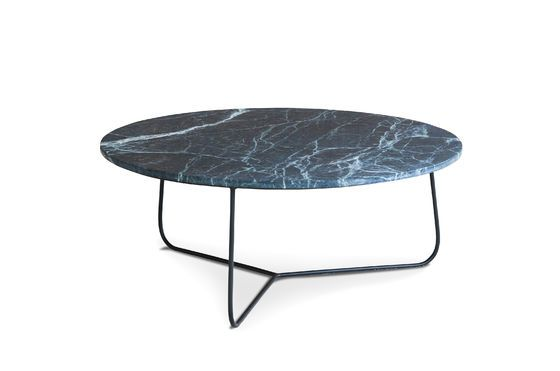 Tavolino da salotto in marmo Vertü Foto ritagliata