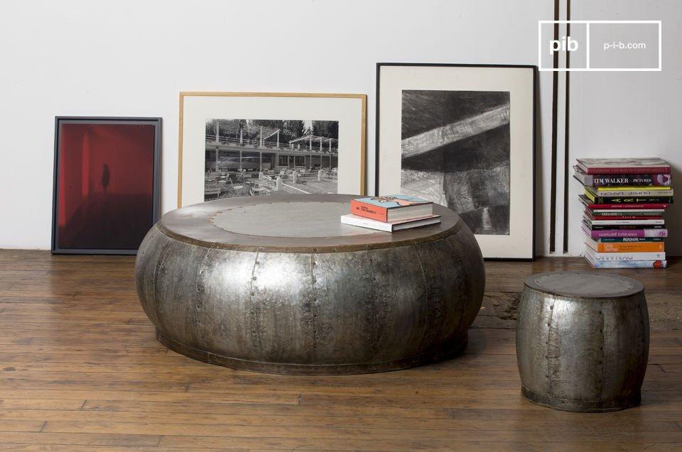 Tavolino da salotto in metallo Tubisteel