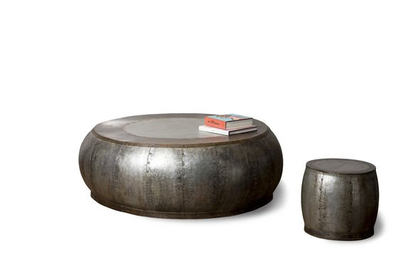 Tavolino da salotto in metallo Tubisteel Foto ritagliata