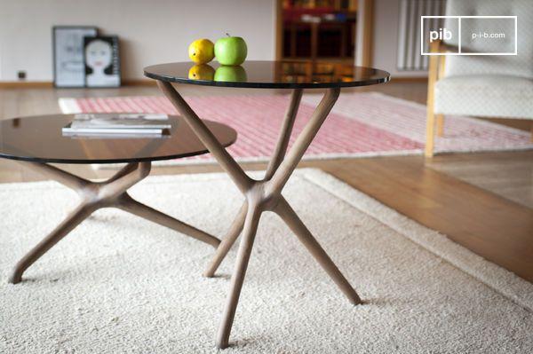 Tavolino da salotto in vetro Nodern
