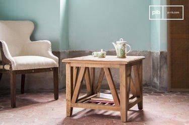 Tavolino da salotto quadrato Cadynam