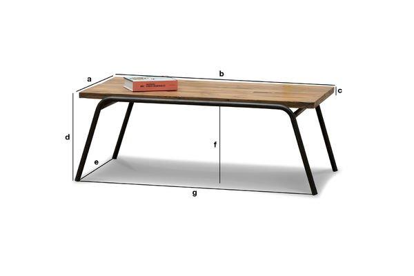 Dimensioni del prodotto Tavolino da Salotto Regular