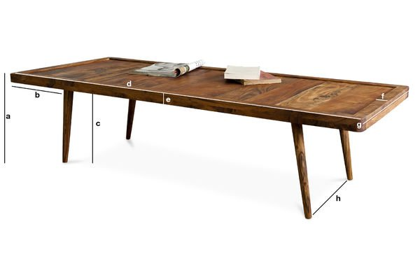 Dimensioni del prodotto Tavolino da salotto Stockholm