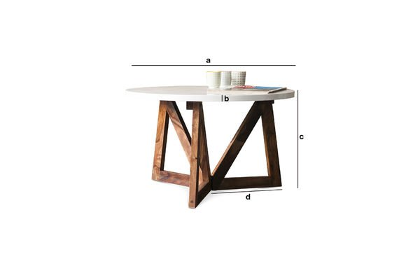 Dimensioni del prodotto Tavolino da salotto W