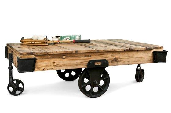 Tavolino da Salotto Wood Wagon Foto ritagliata