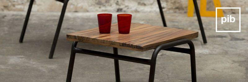 Tavolino design industriale, presto di nuovo in collezione